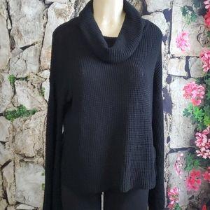 Splendid cowl neck sweater size L